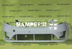 Бампер передний Kia Rio 3 2011-