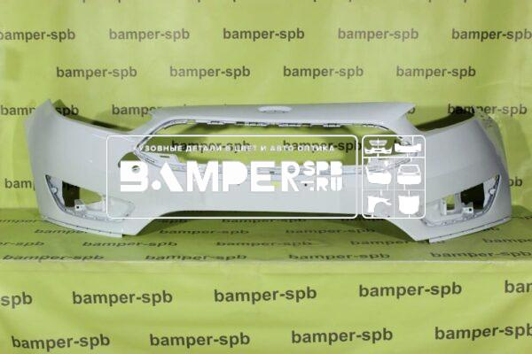 Бампер Фокус 3 рестайл