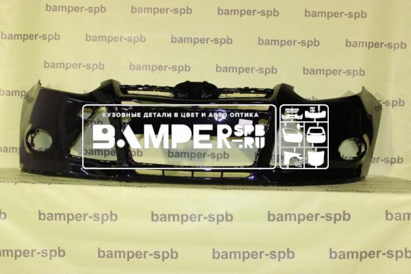 Купить Бампер передний Форд Фокус 3 2011-2015 черный 2851 Panther Black. Цена