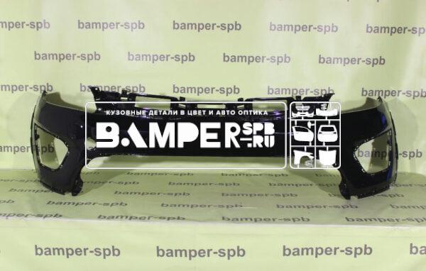 Бампер Киа Рио Икс-лайн передний