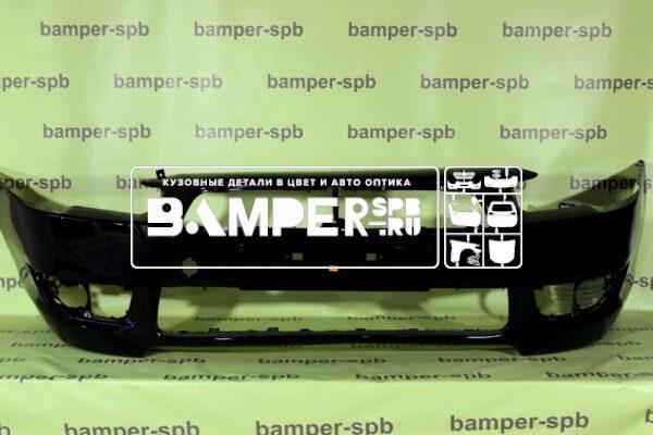 Бампер передний Митсубиси Лансер черный X42 Black