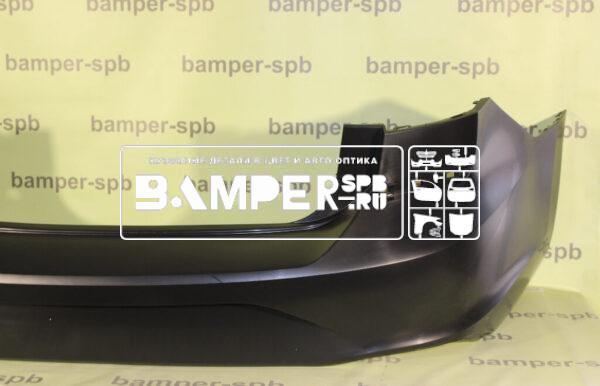 Купить 6N5807421 Бампер задний VW Polo sedan 6 2020. Цена
